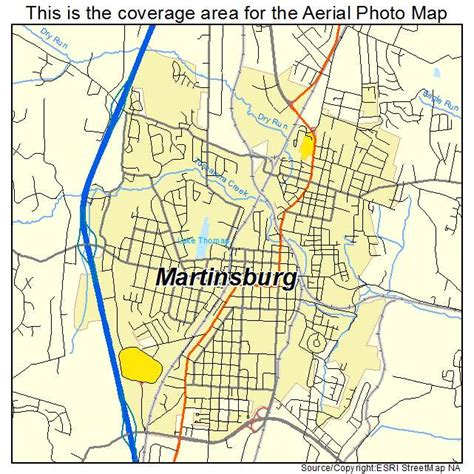 map of martinsburg wv aerial photography map of martinsburg wv west virginia