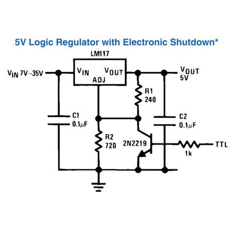 Ic Lm2673 5v regulator circuit diagram circuit and schematics diagram
