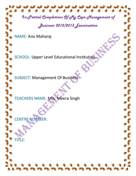 Cape Mob Ia Literature Review by My Cape Management Of Business 2012