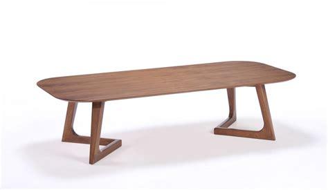 modern simple walnut coffee table arizona vig jett