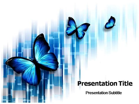 butterfly powerpoint template butterfly tattoos powerpoint templates powerpoint