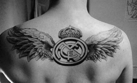 angel tattoo real 60 real madrid tattoo designs for men soccer ink ideas