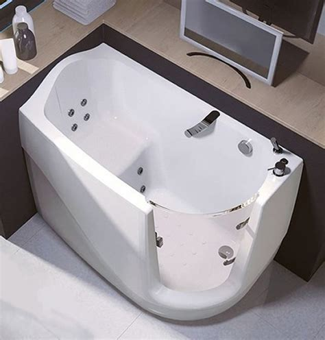 bathtub for seniors walk in sit and relax walk in compact bath tubs by treesse