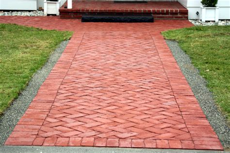 Clay Brick Pavers The Clay Brick And Paver Homes Design