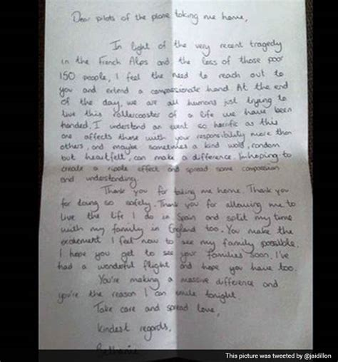 up letter goes viral thank you for taking me home passenger s letter to