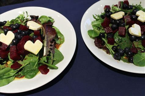 food friday really delicious pasta salad loulou downtown food friday salad with beets blueberries and cheese