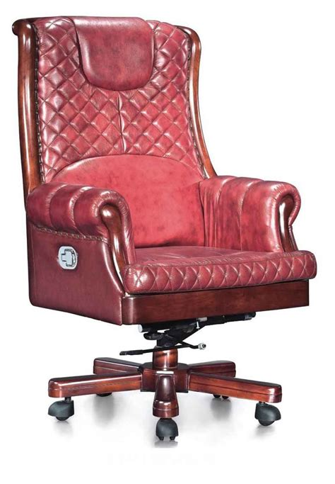 red office desk chair leather desk chairs for office and home