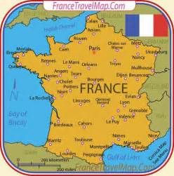 The Map Of France by Travel To France Top 10 Best Places Fecielo