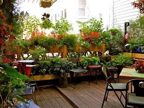 balcony garden design ideas terrace ideal small space with