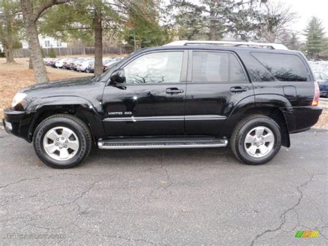 2004 Toyota 4runner Limited Black 2004 Toyota 4runner Limited 4x4 Exterior Photo
