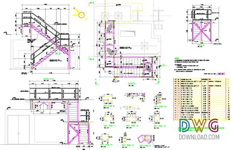 united states map cad drawing metallic stairs dwg drawing stairs stairs details dwg