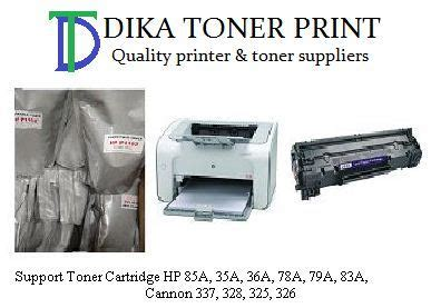 Printer Hp Serbuk serbuk toner hp laserjet p1102 85a archives dika toner