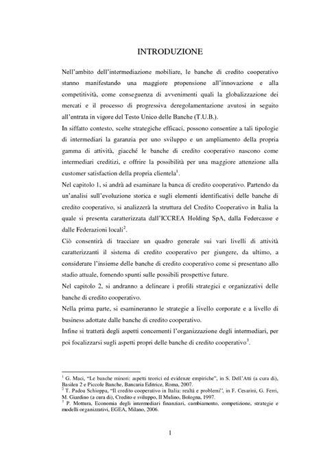 credito mobiliare le strategie delle banche di credito cooperativo nel