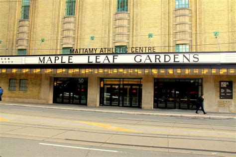time to put the leaf back in maple leaf gardens