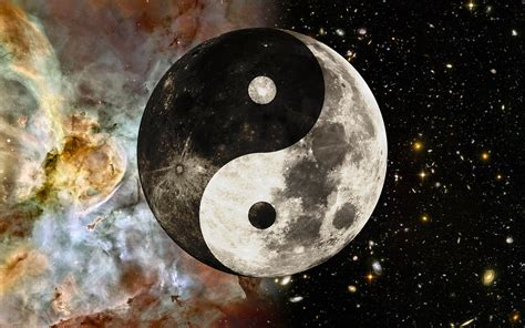 yin yang wallpaper tumblr wallpaper an abstract mix of astronomy and chinese mysticism