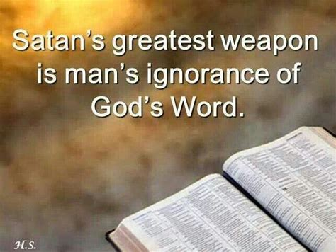 god s plan eliminate biblical ignorance books satan s greatest weapon is s ignorance of god s word