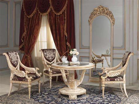 Classic Upholstery by Tavolo E Specchiera In Stile Luigi Xvi Vimercati Meda