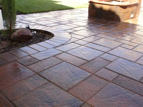 Staining Patio Pavers Concrete And Pavers Decorative Flatwork Chion Property Improvement