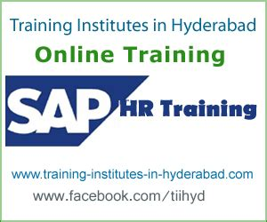 Sap Courses For Mba Hr In Hyderabad by Sap Hr Best Institutes