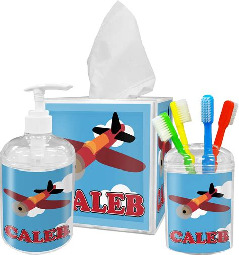 Airplane Bathroom Decor by Airplane Tissue Box Cover Personalized Potty