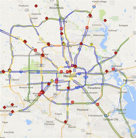 transtar map houston transtar real time traffic map best traffic 2018