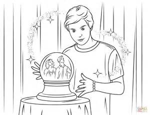 Wizards Of Waverly Place Coloring Pages wizard of waverly place free coloring pages