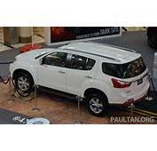 Isuzu MU X  7 Seater 25L SUV Previewed In Malaysia