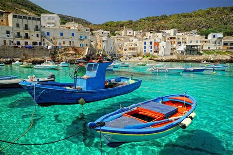 italian water incredibly clear water and fresh sea food in levanzo italy places to see in your