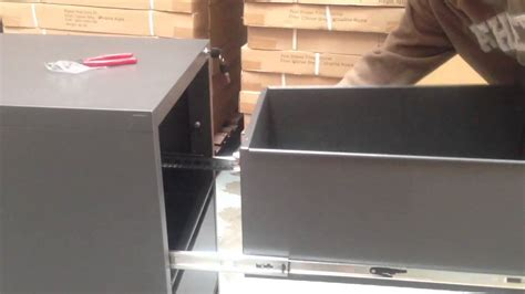 How To Cabinets Together by How To Put The Filing Cabinet Back