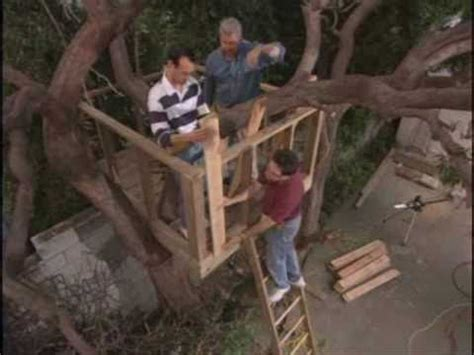 building a tree house everything you need to know how to build an outdoor tree house or tree fort house wmv