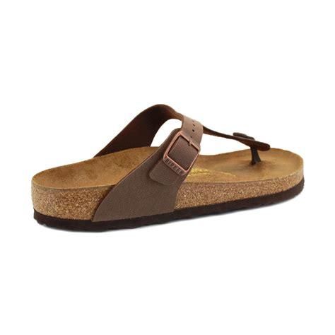 birkenstock shoes birkenstock sandals gizeh womens slip on shoes brown ebay