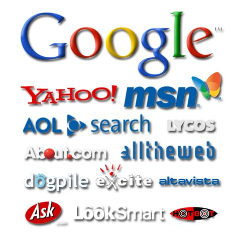Search Engines Schedule Of Search Engines 187 Totalwebsystems