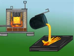 how to melt steel at home how to build a metal melting furnace for 15 steps