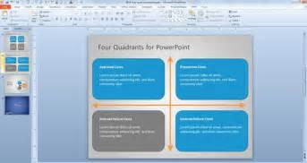 4 blocker template free four diagram for powerpoint free powerpoint