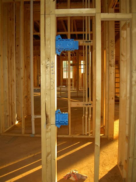 wiring of a house building the middleton house wiring plumbing