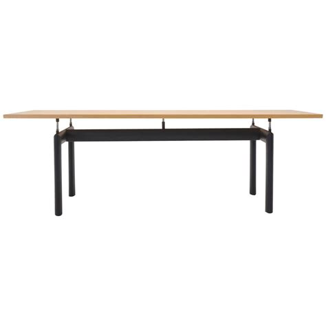 Lecornu Dining Tables Le Corbusier For Cassina Lc6 Dining Or Conference Table At 1stdibs