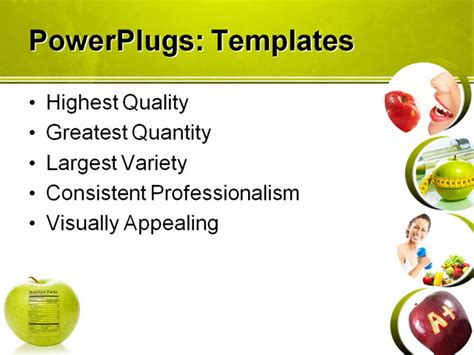 free nutrition powerpoint templates quotes about and powerpoint presentation