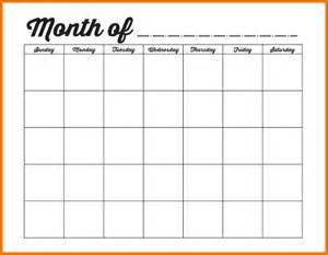template monthly calendar 7 monthly calendar templates scope of work template