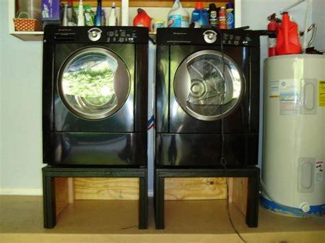 washing machine  dryer pedestal diy projects