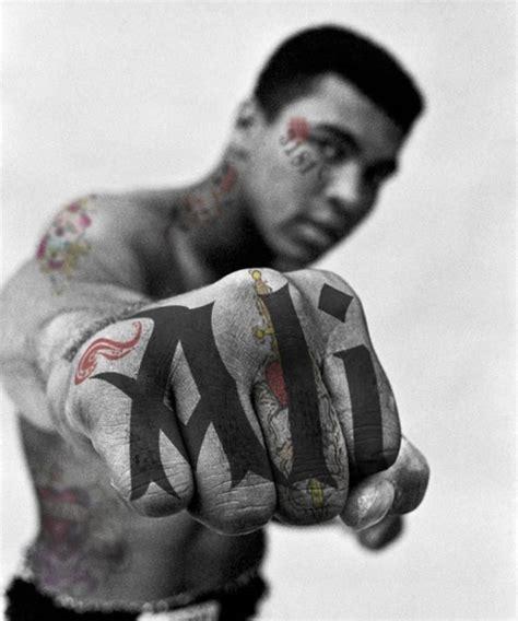 muhammad ali tattoo photograph ma muhammad ali mmxvi i m
