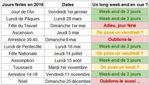 Jours F Ri S 2018 Qu Bec Ponts Et Jours F 233 Ri 233 S En 2016 Profiter Des Longs