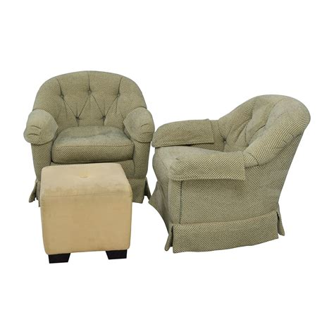 Swivel Club Chairs Sofia Vergara Sorrento Platinum Club Chairs Swivel