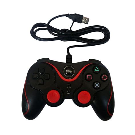 Gamepad Joystick Stik Pc Laptop Single Hitam K One jual m tech sy 881s single getar gamepad hitam harga kualitas terjamin blibli