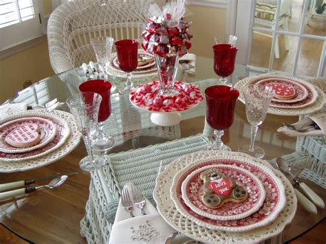 valentines day table a valentine s day tablescape table setting with diy candy