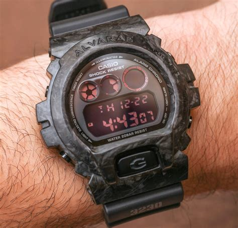 Casio Gshock Dw 6900 casio g shock dw6900 with forged carbon armour by