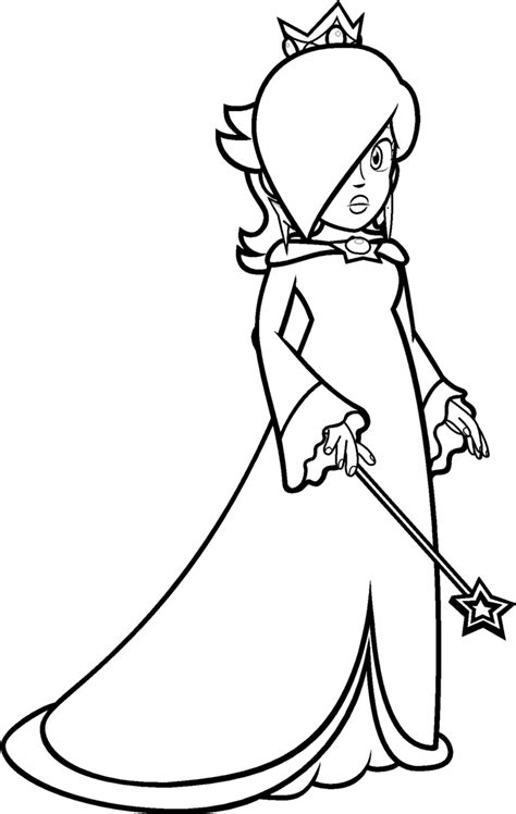 princess rosalina coloring pages rosalina coloring by blistinaorgin on deviantart