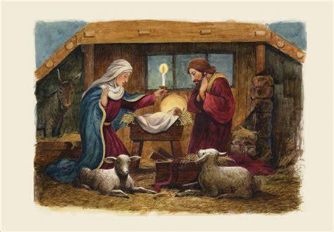 nativity religious christmas card  designer