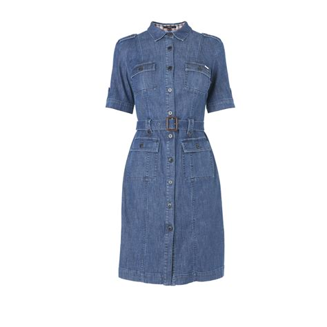 Dress Denim brompton sleeve denim dress at daks