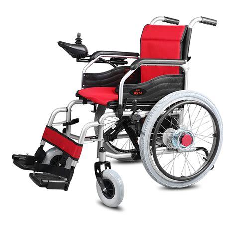 folding power wheelchair cofoe yixiang a3 electric wheelchair big wheel