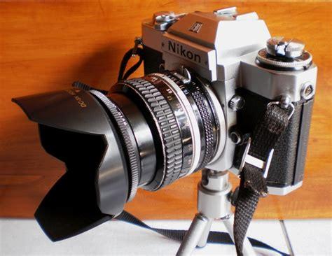 Kamera Nikon Jadul koleksiku barang jadul kamera slr nikon el2 1977